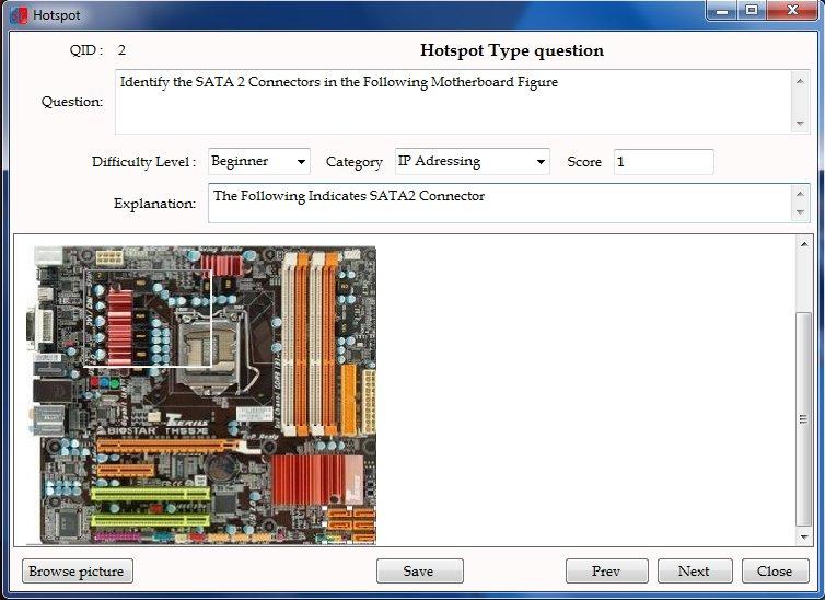 CBT Hotspot type Exam Questions